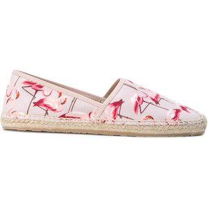 Red Valentino flamingo print espadrilles