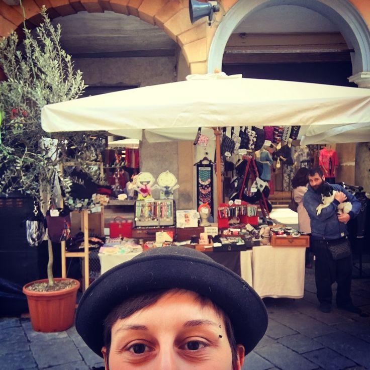 Il nostro stand in strada! Mantova !