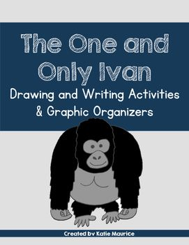 This novel study of The One and Only Ivan by Katherine Applegate includes the following:Character Studies of the following characters:- Ivan- Bob- Stella- Ruby- JuliaDrawing Activities: Students can draw and design Ivan's domain, the Big Top Mall billboard, a Free Ruby!