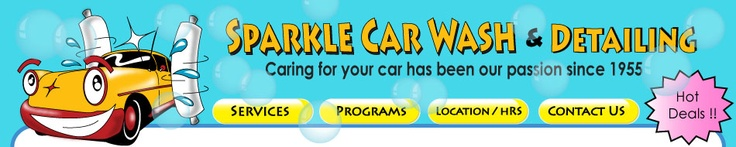 Great, cheap place to get a car wash, detail, or shampoo