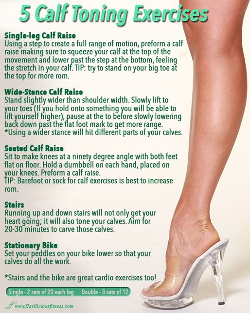 how to lose weight in your calves and ankles