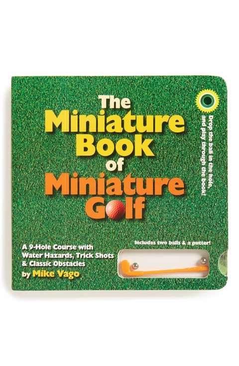 The Miniature Book of Miniature Golf Book