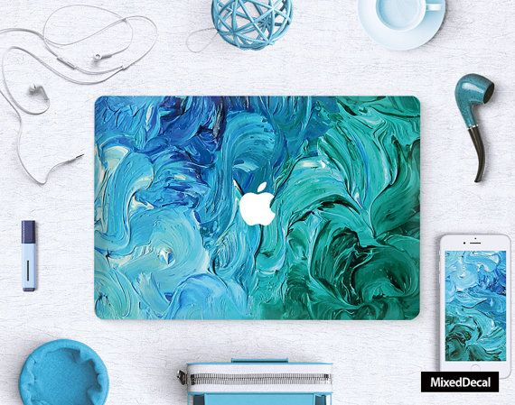 MacBook Pro Decal  Mac Air Sticker  Laptop Skin  by MixedDecal