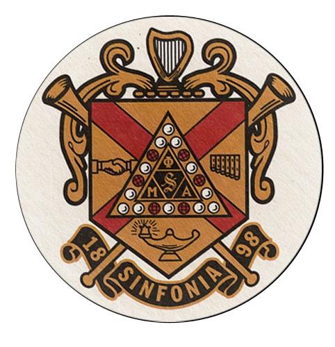 Phi Mu Alpha Sinfonia Coat of Arms