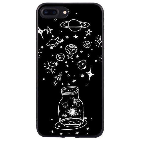 Universe Iphone Case Planets Case Iphone X Iphone 8 Plus Etsy