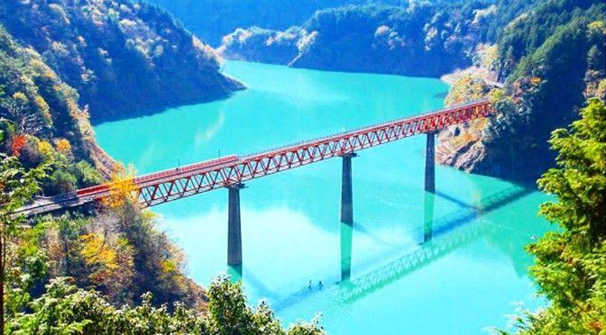 静岡県の山奥。湖の上にある「秘境駅」が、まるで海外みたい・・・ | TABI LABO