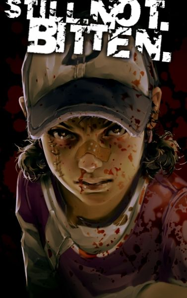 The Walking Dead season 2 - Clementine fan art by http://grobi-grafik.deviantart.com I really love her !