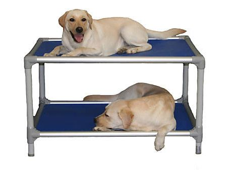 9 Creative Uses for PVC Pipe | Neatologie... DIY dog bed, cots, bunk beds