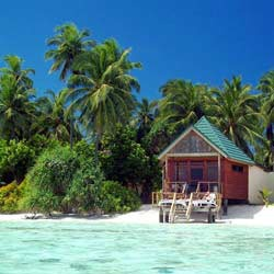 Meeru Island, The Maldives.