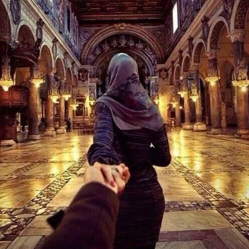 Cute Muslim Couples