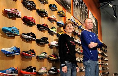 "In a race with 250 running stores in the United States, Syracuse's Fleet Feet Sports came in first.    It was recently named ""best running store in America"" out of 250 stores nominated for the honor by Competitor and Running Insight magazines.    ""In our industry, this is a pretty big deal,'' said Ed Griffin, who co-owns the franchised store with his wife, Ellen Griffin '83"