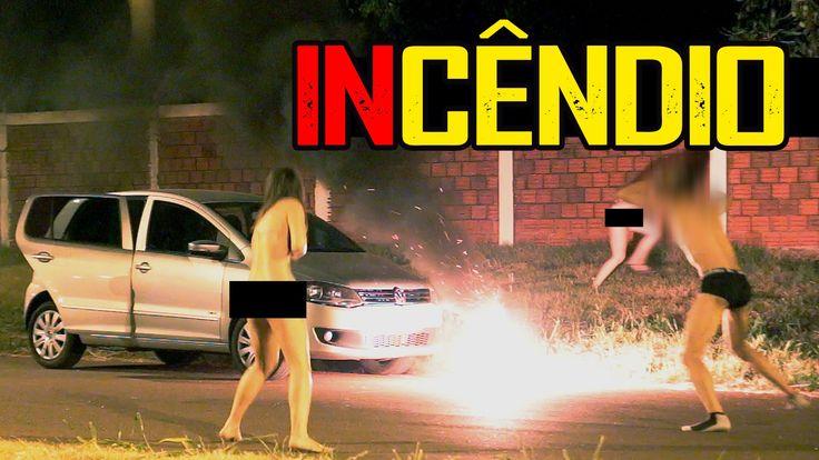 PEGADINHA: Incêndio (Fire Prank) - YouTube