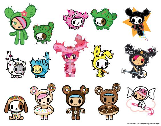 Black Banditz is Now Offering Official tokidoki Tattoos! « cactus family