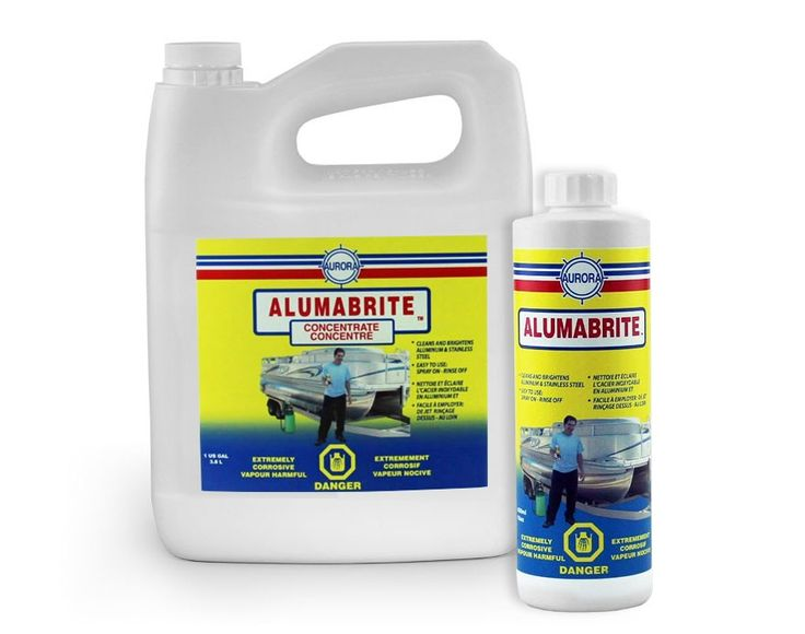 Aluminum Cleaner Aluminum Brightener Alumabrite Boat Projects Boat Stuff Pontoon Boat