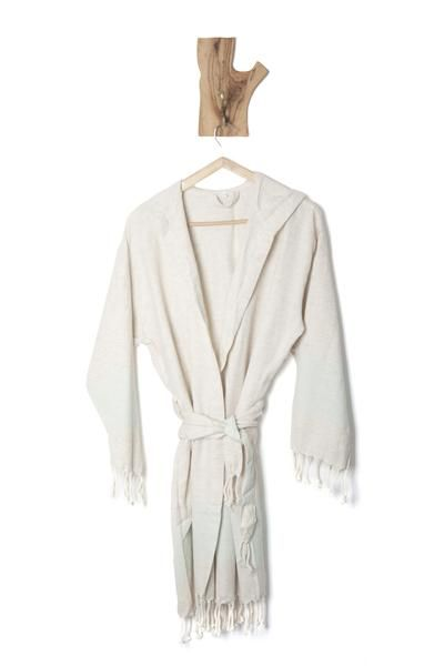 Natural, high quality softened linen Turkish bathrobe will comfort you with its texture. Linen&Cotton fabric is hand-loomed so that our natural bathrobes are thinner, stronger and lighter