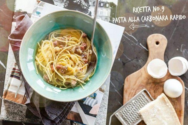 Unser liebster Comfort Food. Oder wie ihr zuhause in 13 Minuten zur besten Pasta Carbonara eures Lebens kommt*!  Das Ricetta gibt's hier: http://bit.ly/spiga_ricetta_pastacarbonara *Alle, die nicht selber kochen wollen, können sich naturelmente jederzeit bei uns im SPIGA Ristorante eine Carbonara bestellen wink emoticon.