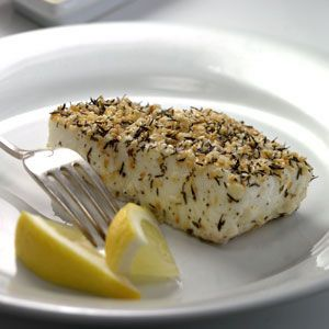 Thyme- & Sesame-Crusted Pacific Halibut [225x2].