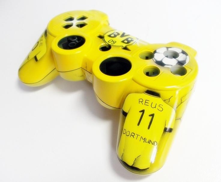 BVB, Dortmund, Playstation 3, Controller, Airbrush