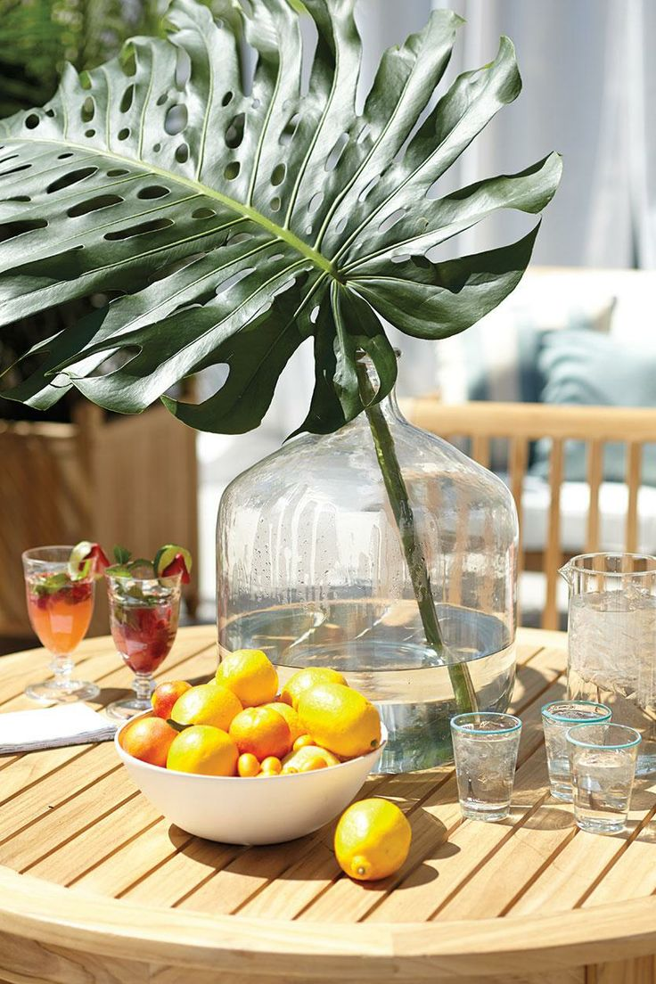 Rooftop party and entertaining ideas from @domino magazine and Ballard Designs