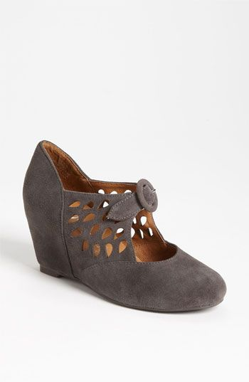 Jeffrey Campbell 'Torch' Mary Jane Wedge | Nordstrom <---Want want want want want want want - in grey as shown please.