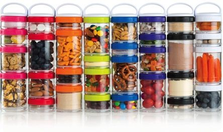 Love, love, love!! GoStaks are so cool, such an attractive and easy way to pack healthy snacks for the gym, commuting, work, school, etc. If you use protein powder, the Staks are designed to fit into the BlenderBottle for total convenience.