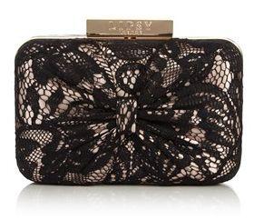 Lipsy Lace Detail Box Bag