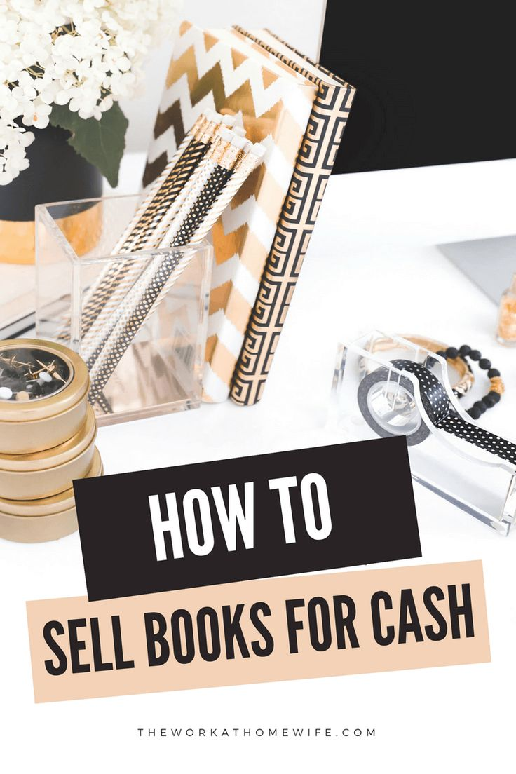 how to sell your used books
