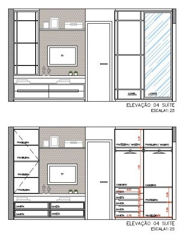 17 best images about detalhamento de arm rio on pinterest - Medidas de armarios de cocina ...