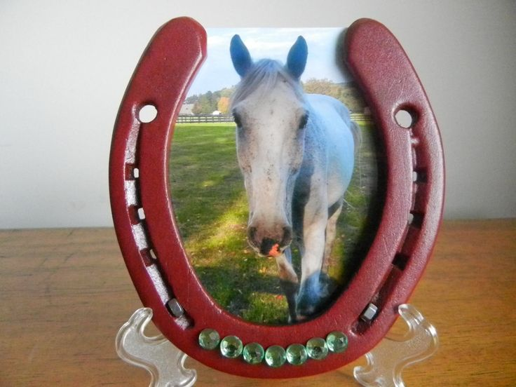 Picture Frame Red with green beads, 4x6 photo, barn decor,  holiday, Christmas, horse decor, rodeo decor, wedding gift, western kids room by APhorseshoes on Etsy