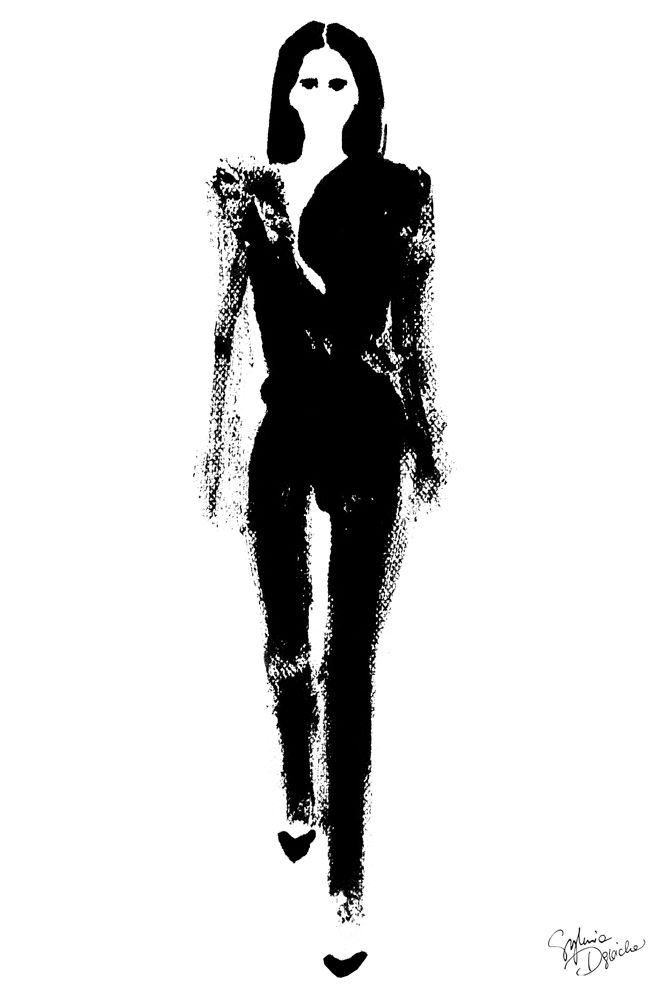 Women of Paris on Behance  #beauty #fashion #fashionillustration #illustration #artist #art #contemporaryart #hautecouture #vogue #minimalism #paris #girlpower