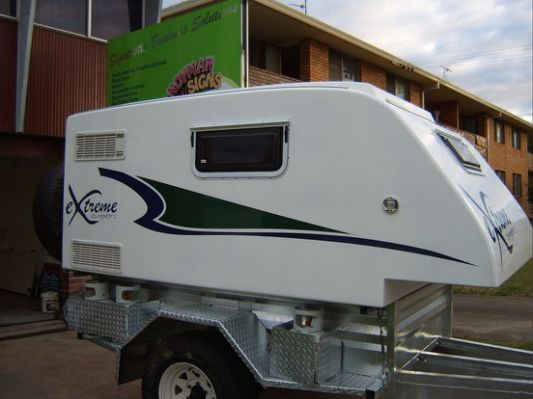 home built camping trailers |