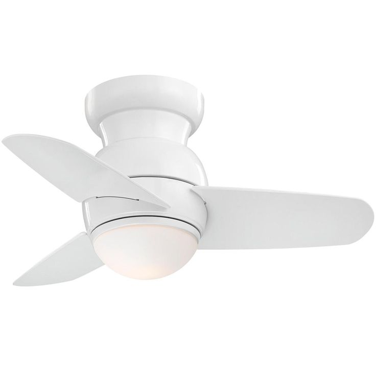 "26"" Spacesaving Flush Mount Ceiling Fan $180 @Shades of Light"