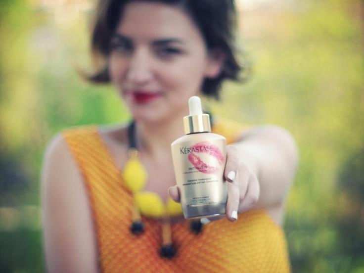 Anjeza Tufina:  My favorite #Kérastaseit product for People Love Kérastase: Kérastase Initialiste.