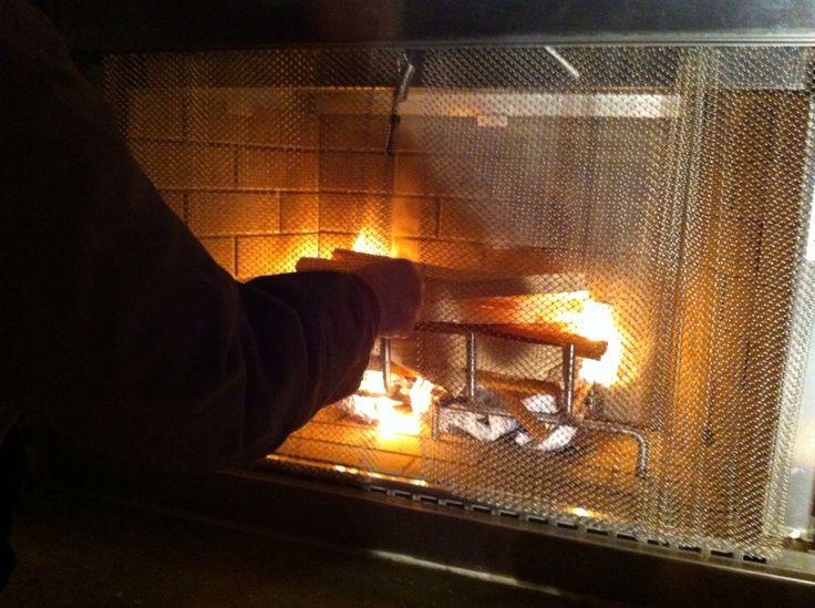 First fire light in first part of December 2012.