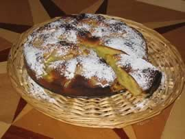 La cucina del gallo: torta di pere