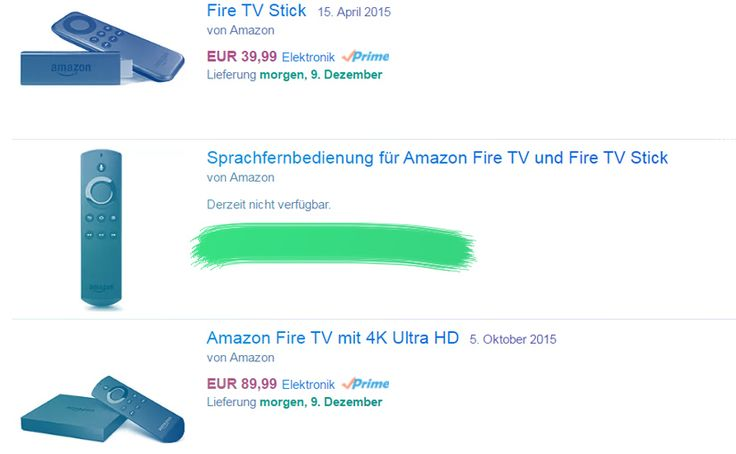 Den Fire TV Stick sollte man nur mit der Sprachfernbedienung kaufen. Alles andere wäre ein fauler Kompromiss