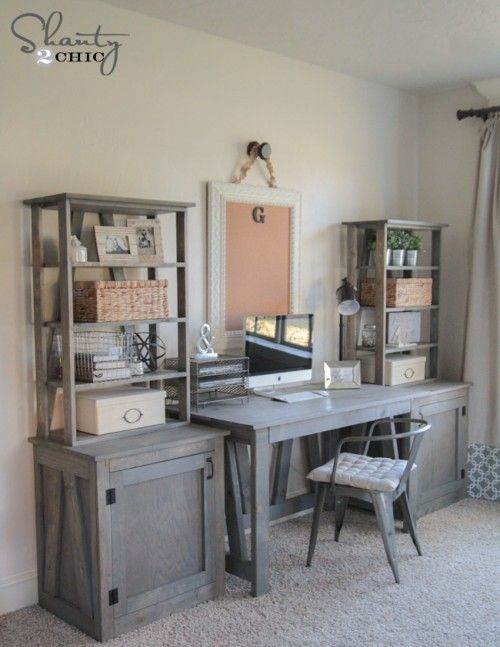 Best 25 floating computer desk ideas on pinterest for Woodworks design office 8