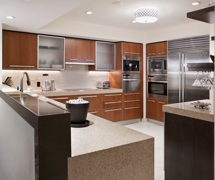 Miami Condomium Kitchen Design | Kitchen design ...