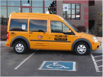 YELLOW CAB COMPANY OF COLORADO SPRINGS LAUNCHES WHEELCHAIR ACCESIBLE TAXIS