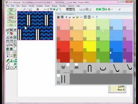 DesignaKnit 8 Tutorial - Cables - YouTube