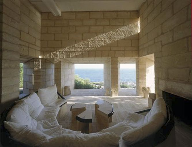 Jorn Utzon house in Mallorca