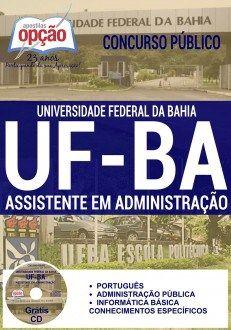 Apostila UFBA Assistente em Administração PDF Download