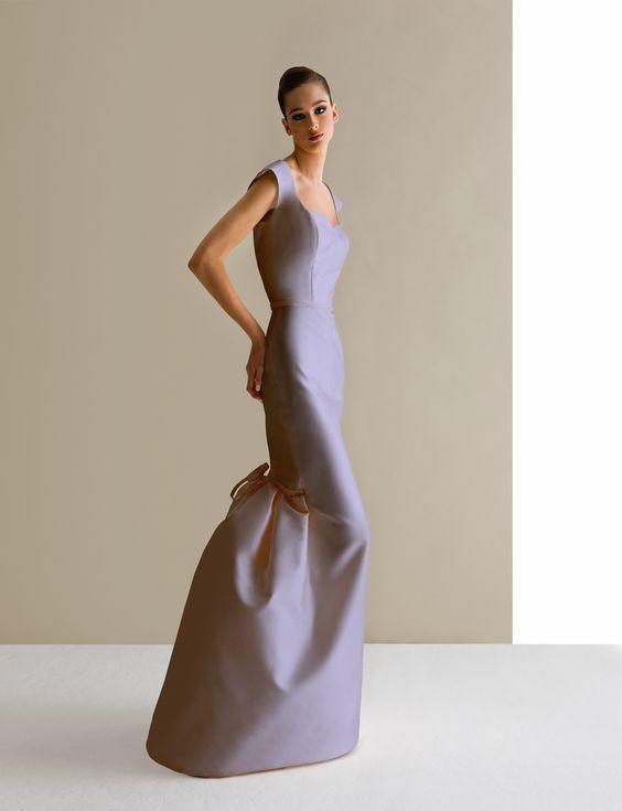ショートベールと合わせたい大人スレンダードレス♡ スタイリッシュでセクシーなカラードレスの参考一覧。