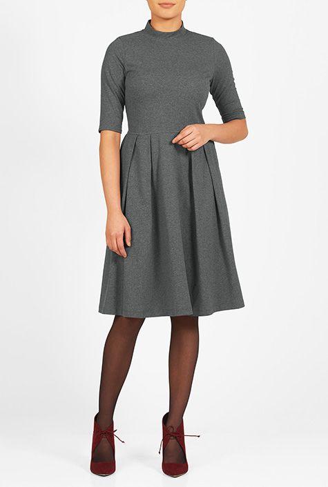ESHAKTI sells affordable, custom dresses. You choose neckline, sleeve length, and skirt length.