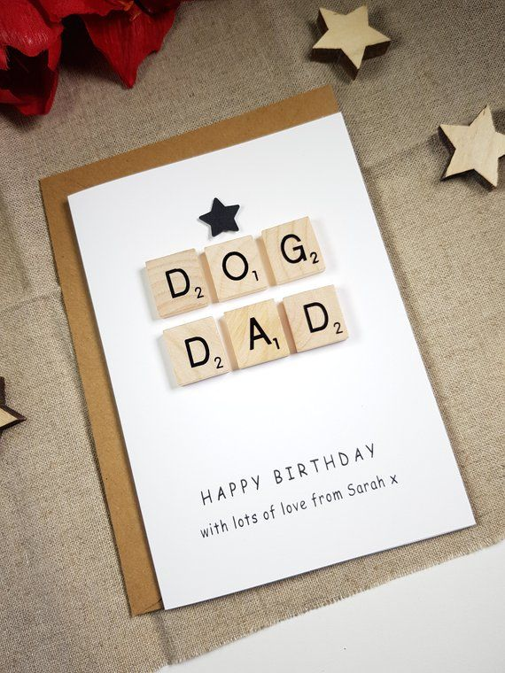 Birthday Card From The Dog Dad Best For Withpuns