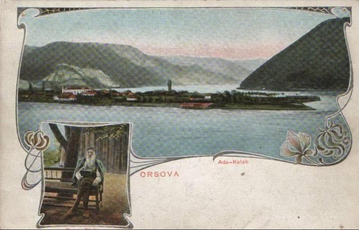 Ada Kaleh anii 1900