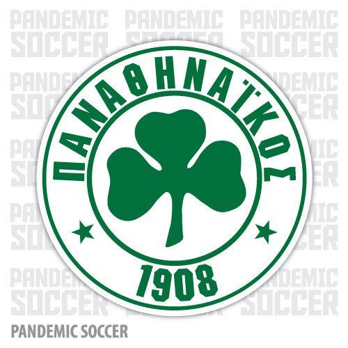 Panathinaikos FC Athens Greece Vinyl Sticker Decal