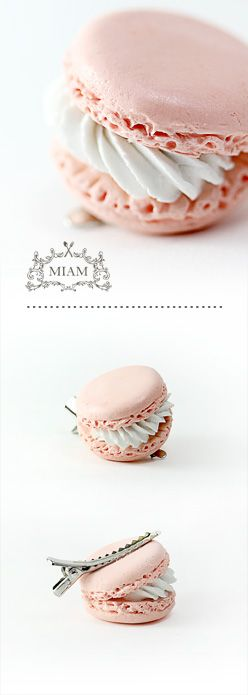 macaron...I wonder if I could figure out how to cast resin?