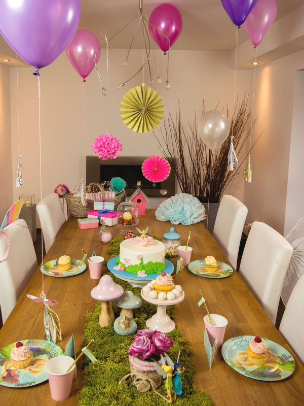 So k nnte eure geschichte bei dem tinkerbell geburtstag for Geburtstagsparty deko