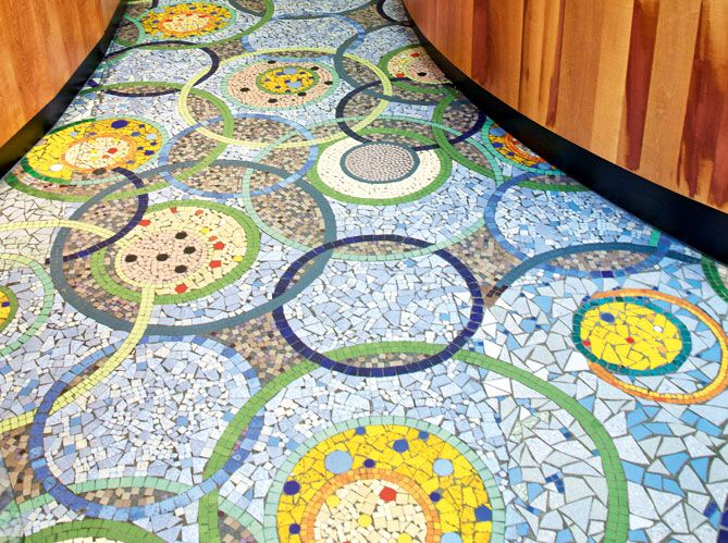 1000 Images About Mosaic Floors On Pinterest Mosaic